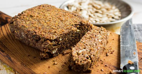 Eiweißbrot eignet sich für kohlenhydratarme sowie vegetarische und vegane Ernährung und schützt zudem vor häufigen Mangelerscheinungen.