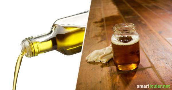 Überlagertes Öl verliert an Geschmack und wird durch Oxidation ranzig. Zum Entsorgen ist es jedoch zu schade - probiere doch mal diese alternativen Verwendungsmöglichkeiten!
