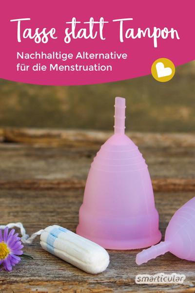 Es lohnt sich, Alternativen zu Tampons und Binden auszuprobieren. Die Menstruationstasse verspricht mehr Komfort, dafür weniger Kosten und Müll.