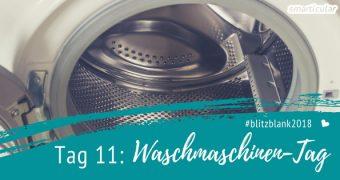 Waschmaschine reinigen leicht gemacht! Mit dieser Schritt-für-Schritt-Anleitung befreist du deine treue Haushaltshilfe innen und außen umweltfreundlich von Kalk und Schmutz.