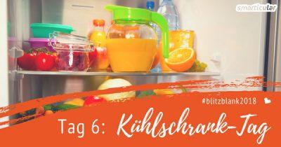 Gerade im Kühlschrank ist Hygiene besonders wichtig. Mit wenigen Handgriffen und nur einem einzigen Hausmittel stellst du sie schnell und einfach sicher.