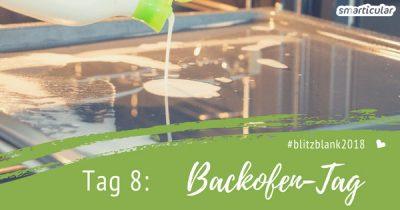 Im Backofen entstehen schnell angebrannte Verkrustungen. Mit dieser Anleitung und einem natürlichen DIY-Reiniger machst du ihnen den Garaus!