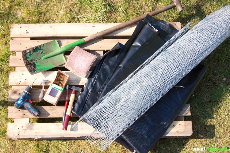 hochbeet selber bauen aus europaletten diy anleitung. Black Bedroom Furniture Sets. Home Design Ideas