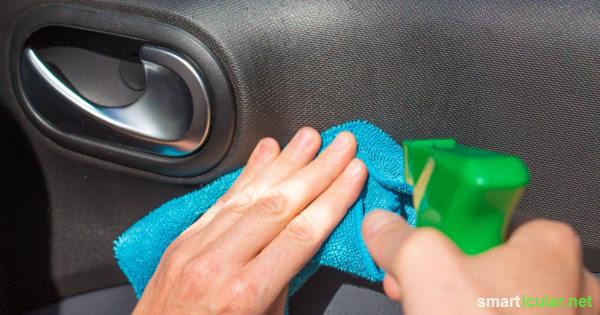 Autopflege Wirksames Cockpitspray Selber Machen Mit Essig