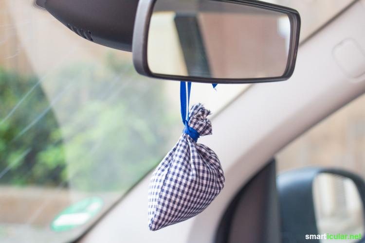 Statt auf teure, ungesunde Spezialmittel zur Geruchsentfernung zurückzugreifen, kannst du dein Auto mit einfachen Hausmitteln vom Mief befreien.