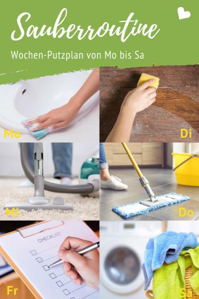 sauberroutine f r jedes zuhause putzen ohne aufwand. Black Bedroom Furniture Sets. Home Design Ideas