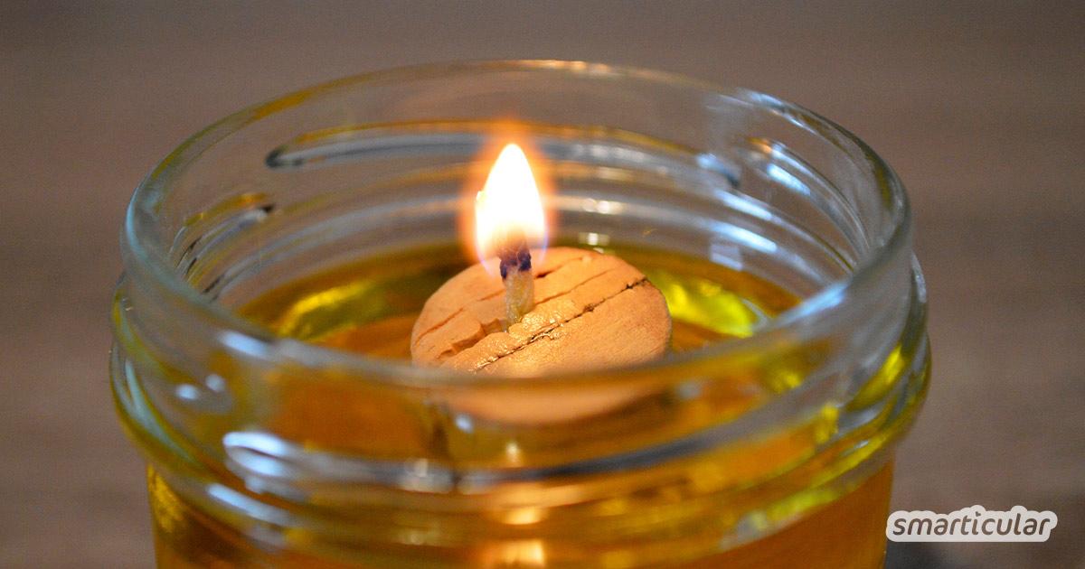 Am Abend eine Kerze anzuzünden, sorgt für Entspannung und schönes Ambiente. Diese Schwimmkerze ist eine tolle Alternative zu Teelichtern!