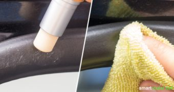 Teure Spezialprodukte zur Pflege der Dichtungsgummis am Auto sind unnötig. Aus nur zwei Zutaten kannst du eine umweltfreundliche Gummipflege selber herstellen!
