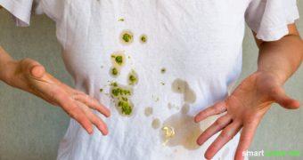 Fettflecken gelangen schnell mal auf die Kleidung! Statt chemische Fleckentferner zu verwenden, sind Hausmittel eine günstige und ökologische Alternative.