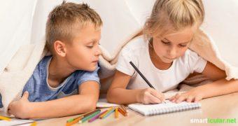 Stift und Papier reichen aus, um dir und deinen Kindern kurzweiligen Spielspaß zu bescheren. Probiere es doch gleich mal aus!