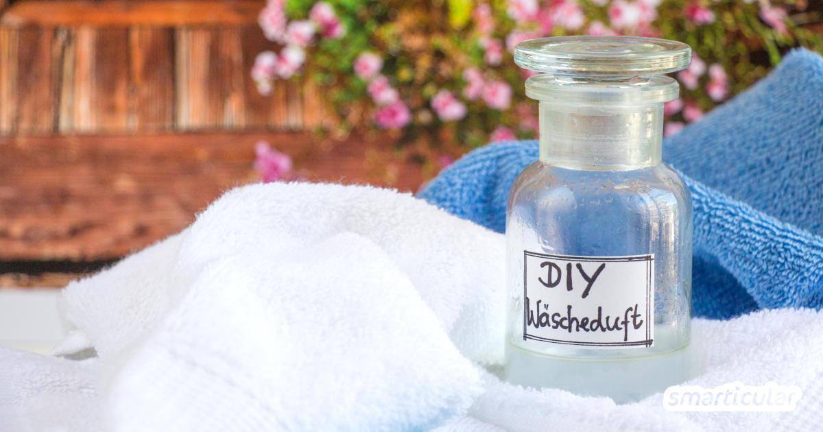 Natürlich duftende Wäsche ohne Weichspüler und Co. erhältst du mit diesen einfachen Hausmitteln - preiswert, umweltfreundlich und wirksam.