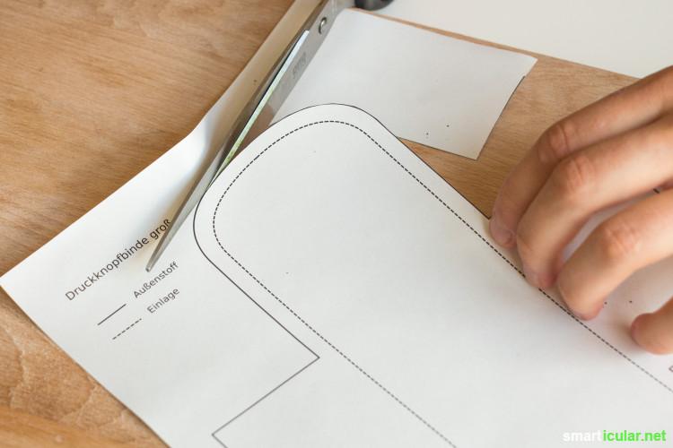 DIY-Stoffbinden - Schritt-für-Schritt-Anleitung mit Schnittmuster