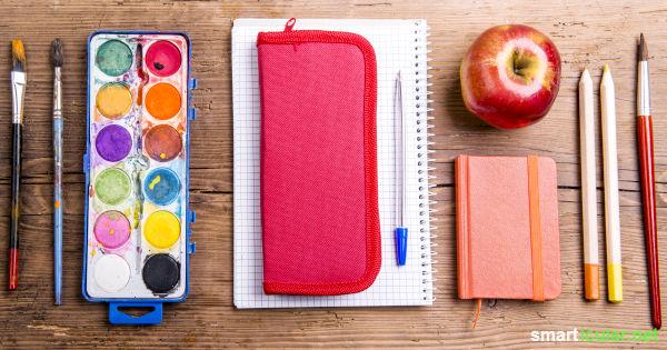 Umweltfreundlich und gesund in die Schule: Diese Tipps helfen, dein Kind ökologisch und gesundheitlich unbedenklich für den Schulstart auszustatten.