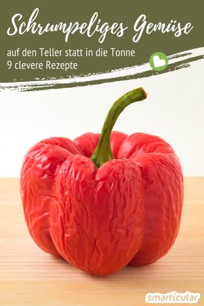 Überlagertes Gemüse muss noch lange nicht in die Tonne! Mit diesen Rezepten kannst du damit leckere Gerichte, Würzpasten, Saucen und mehr auf Vorrat zaubern.