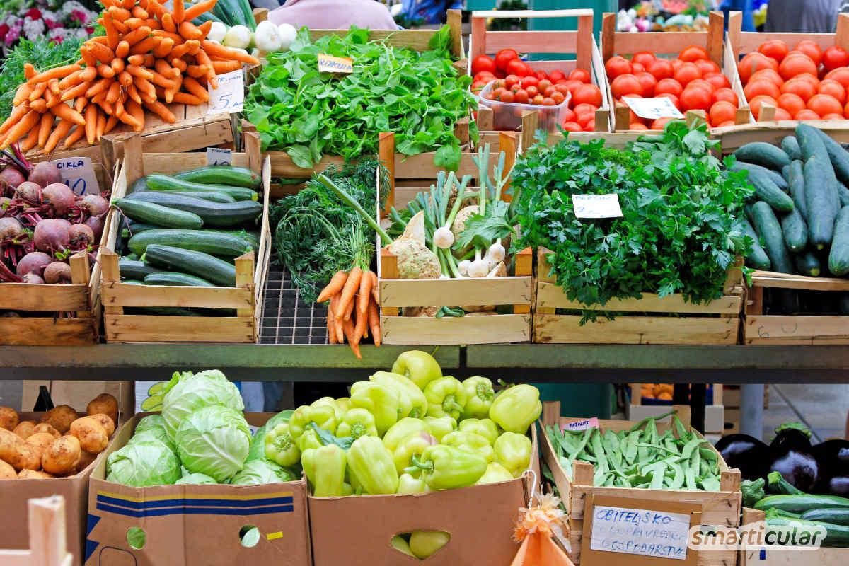 Du findest eine vegane Ernährung zu teuer? Das Gegenteil ist der Fall - wer sich rein pflanzlich ernährt, lebt gesund und kann gleichzeitig Geld sparen!