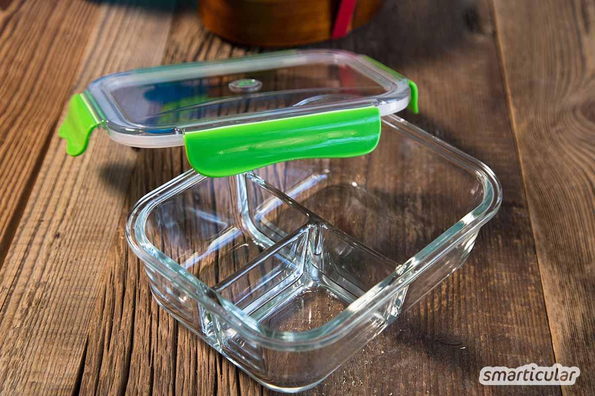 Mit einer wiederverwendbaren Brotbox lässt sich viel Müll einsparen. Hier findest du die besten Lunchboxen aus Edelstahl, Glas, BPA-freiem Plastik und Co. im Vergleich.