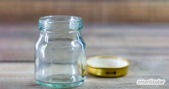 Wer Lebensmittel einmacht und Kosmetik selbst herstellt, braucht keimfreie Gefäße zur Aufbewahrung. Hier erfährst du alles über die gängigsten Methoden zum Sterilisieren von Marmeladengläsern und Co.