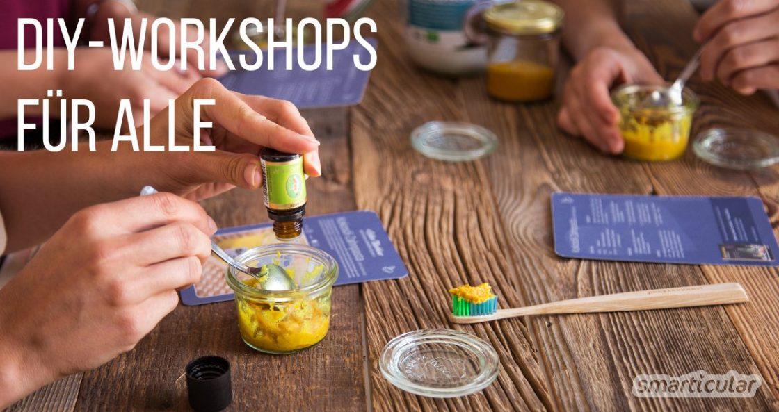 #SelberMachbar DIY-Workshops mit smarticular: Einfach selber machen!