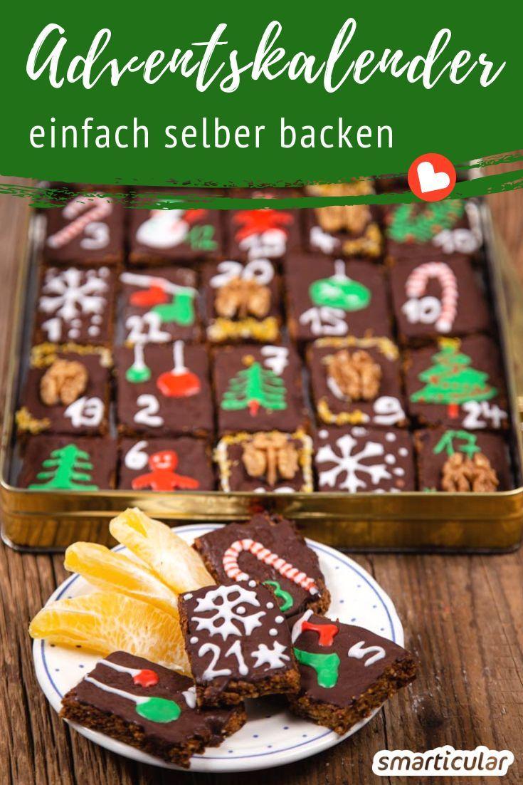 Back dir den Adventskalender doch einfach selbst! Mit diesem Rezept für 24 hübsch verzierte, kleine Lebkuchen verschenkst du dieses Jahr etwas ganz Besonderes in der Vorweihnachtszeit.
