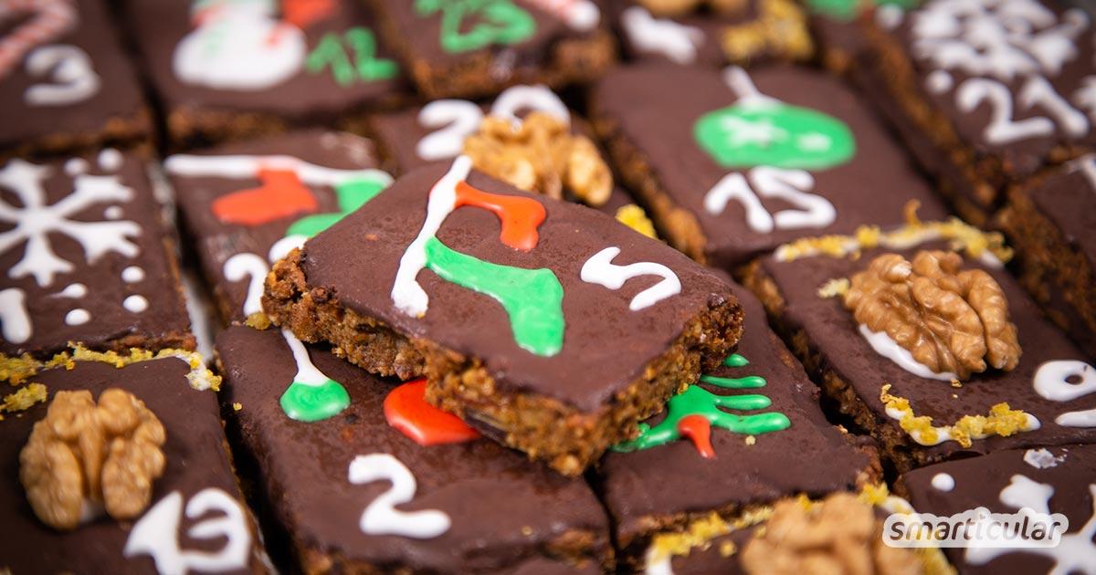 Zero-Waste-Tipp: Adventskalender selber backen