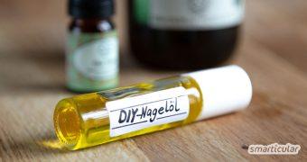 Brüchige, rissige Fingernägel brauchen eine Extraportion Pflege. Dieses einfache Rezept für natürliches Nagelpflege-Öl kräftigt die Nägel und macht sie wieder schön geschmeidig.
