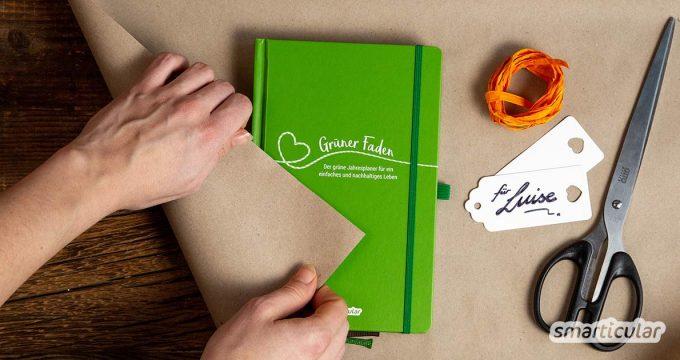 Keine Lust auf Plunder? Lass dich inspirieren von diesen 15 nachhaltigen Geschenkideen für ein praktisches, sinnvolles, schönes und grünes Weihnachtsfest.