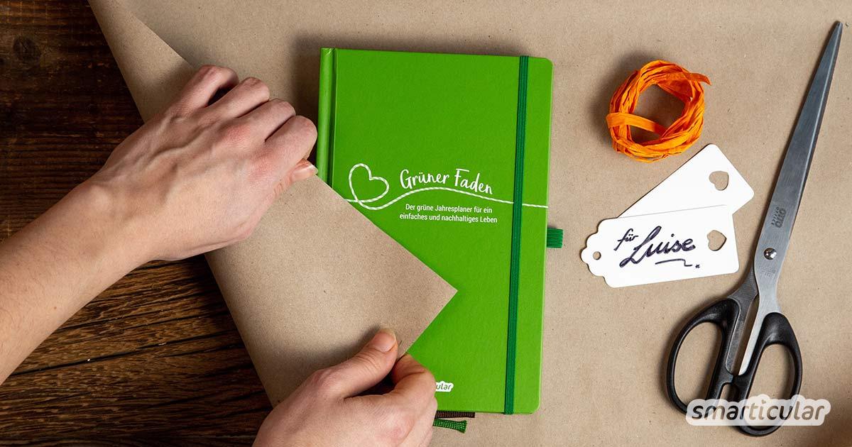 Weihnachtsgeschenke Keine Idee.Nachhaltige Weihnachtsgeschenke Mit Sinn 15 Einfache Ideen