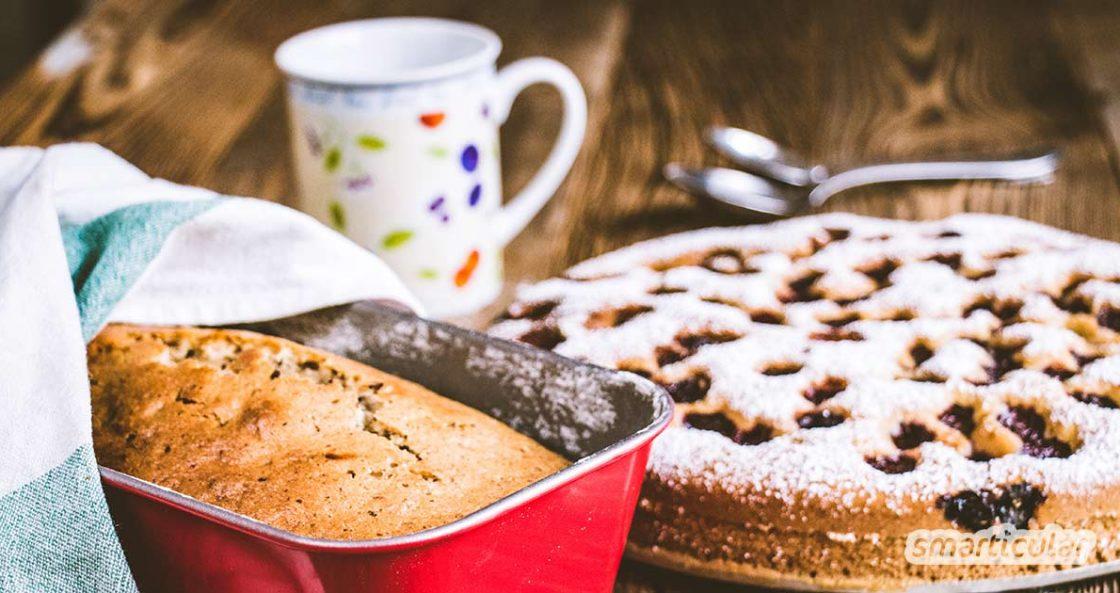 Unerwarteter Besuch steht vor der Tür? Diese schnellen Kuchenrezepte gelingen immer, und die Zutaten hast du wahrscheinlich alle schon zu Hause.
