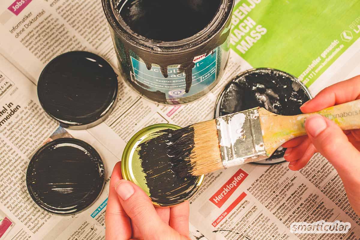 Vergiss Klebeetiketten auf Vorratsgläsern! Diese Methoden der Beschriftung sind einfacher, langlebiger und verursachen weniger Müll.
