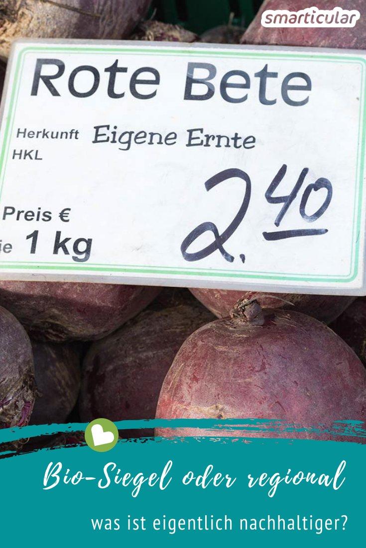 Die Kartoffeln mit Bio-Siegel aus Übersee oder doch lieber Knollen aus der Region? Nicht immer sind Bio-Produkte die gesündere und umweltfreundlichere Wahl.