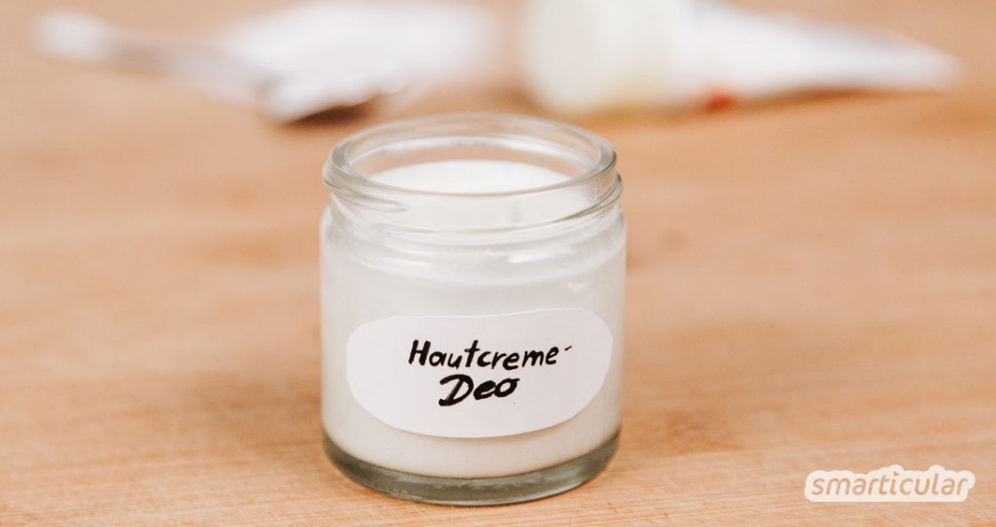 Für die Herstellung einer besonders einfachen Deocreme brauchst du lediglich deine Lieblingshautcreme und Natron. Garantiert wirksam, hautfreundlich und schnell gemacht!