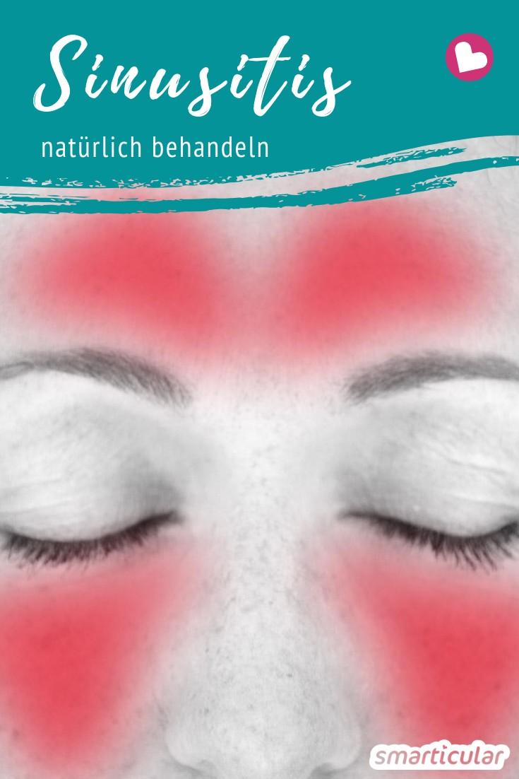 Eine Nasennebenhöhlenentzündung, auch Sinusitis genannt, kann besonders gut mit natürlichen Mitteln wie Ingwertee, Rotlicht und scharfem Meerrettich bekämpft werden.