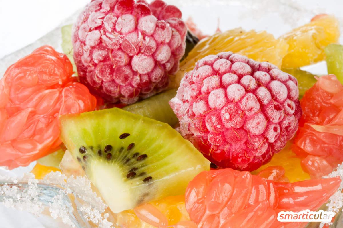 Im Winter liegen deutsche Äpfel im Regal direkt neben neuseeländischen. Aber was ist eigentlich ökologischer: Importfrucht, Lagerobst oder vielleicht doch die Tiefkühlware?