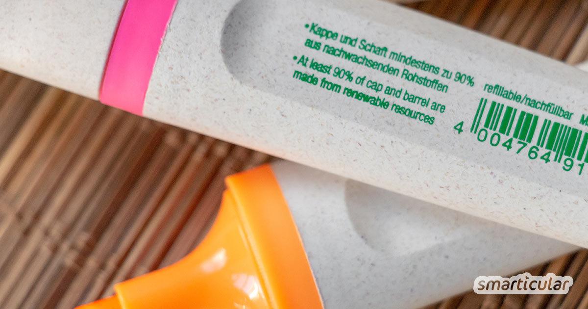 Am Arbeitsplatz verbrauchen wir besonders viele Ressourcen. Dabei können schon kleine Veränderungen helfen, Müll und Plastik zu vermeiden und die Umwelt zu schonen.