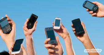 Alte Handys sind eine wertvolle Ressource! Wirf sie nicht weg, denn du kannst sie über ein Ankaufsportal weitergeben oder spenden und damit gleich doppelt Gutes tun.