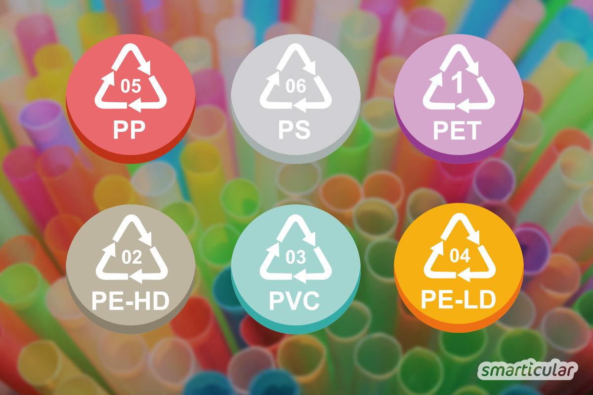 Plastik ist problematisch für Umwelt und Gesundheit. Aber manchmal ist das Material unverzichtbar. Wie erkennt man, welche Plastiksorten recycelbar und unbedenklich sind?