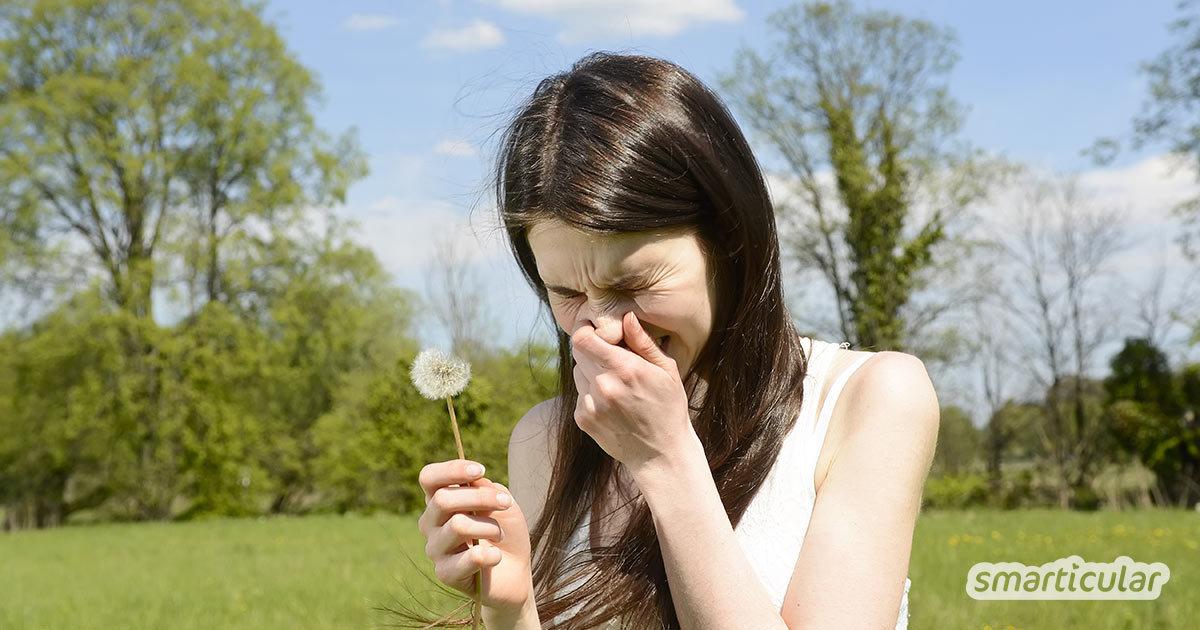 Medikamente gegen Heuschnupfen haben häufig unschöne Nebenwirkungen. Dagegen bekämpfen antiallergische Lebensmittel die Pollenallergie ganz natürlich und können täglich auf dem Speiseplan stehen.