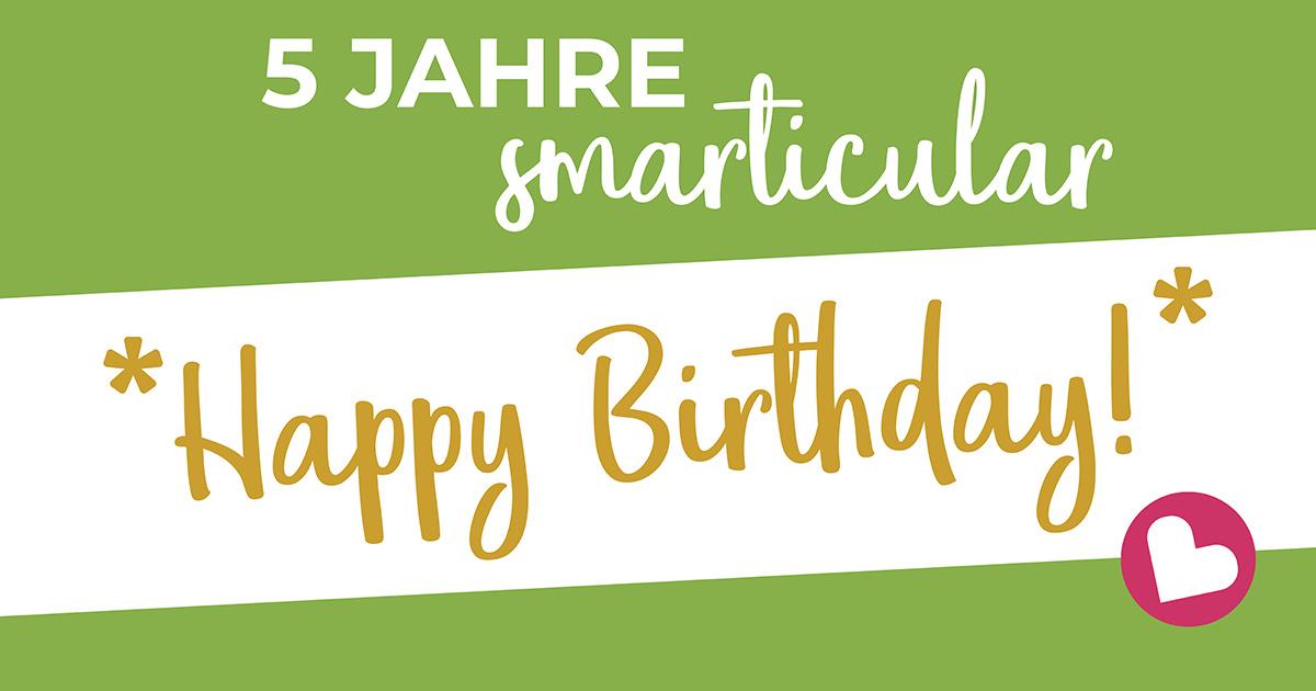 smarticular wird 5 - zum Geburtstag gibt es jedes E-Book für 99 Cent