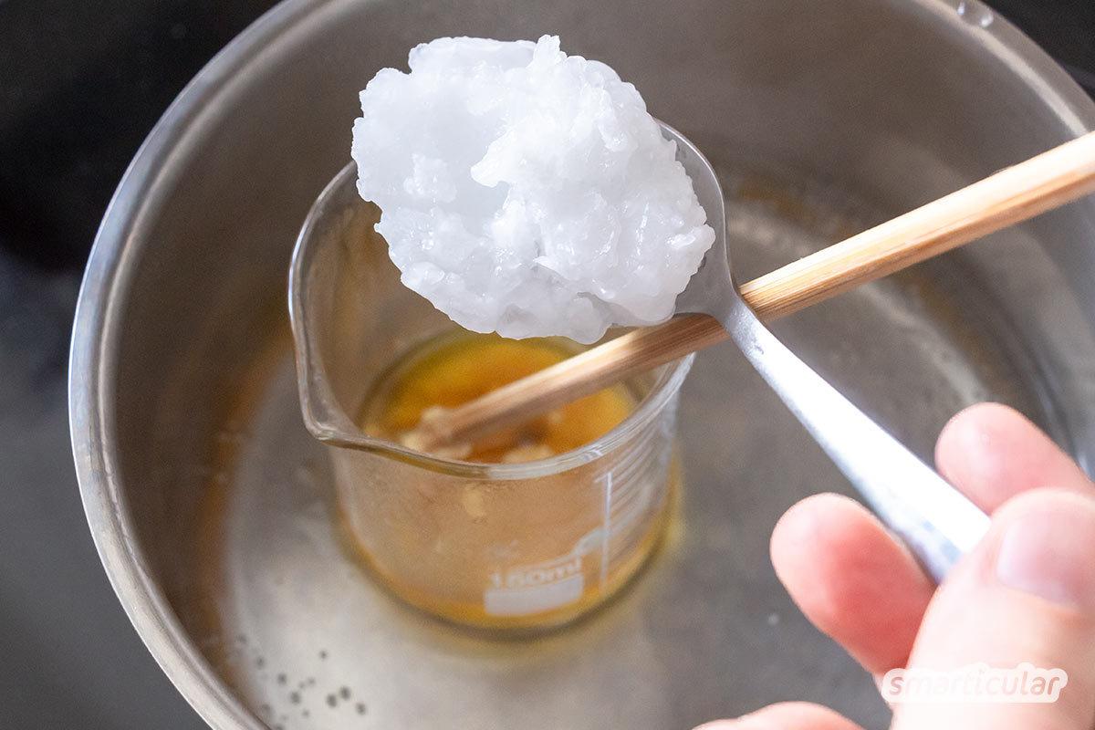 Feste Lotion-Bars mit Anti-Mücken-Wirkung kannst du einfach selber machen. Sie sind Mückenabwehr und natürliche Hautpflege zugleich - ohne ungesunde Zutaten.