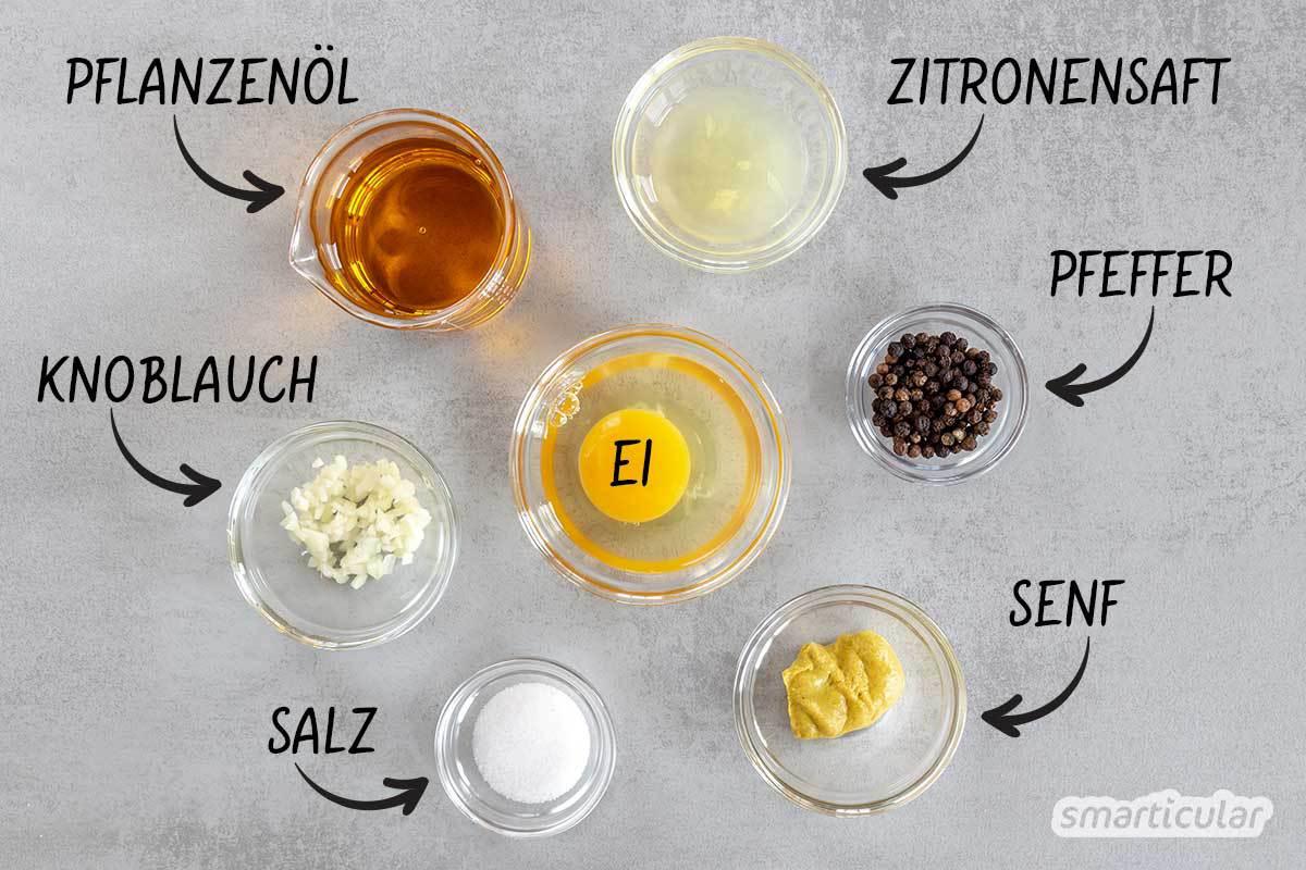 Die mediterrane Knoblauchcreme Aioli ist die perfekte Ergänzung für viele Speisen. Sie gelingt in wenigen Minuten und besteht aus nur wenigen Zutaten.