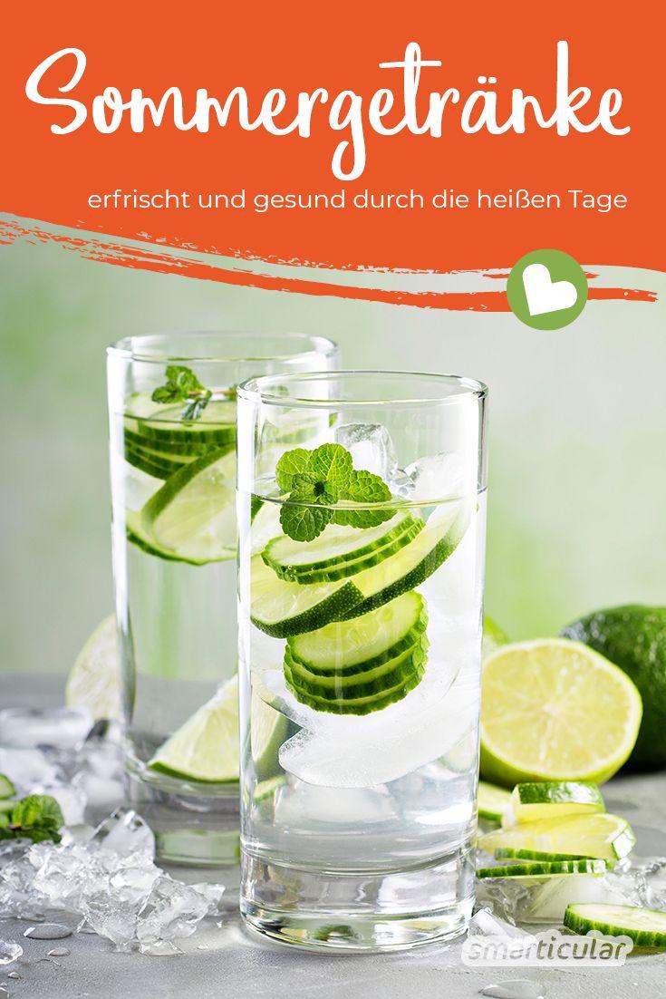Im Sommer und bei Hitze ist es wichtig, ausreichend zu trinken, um einem Flüssigkeits- und Mineralstoffmangel vorzubeugen. Die richtigen Durstlöscher helfen, den Körper abzukühlen und mit Vitalstoffen zu versorgen.