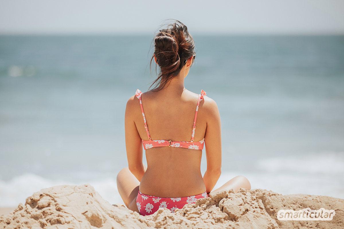 Auch Haare brauchen Sonnenschutz, oder besser gleich einen Schutz vor Sonne, Salz- und Chlorwasser. Denn all das strapaziert das Haar im Sommer.