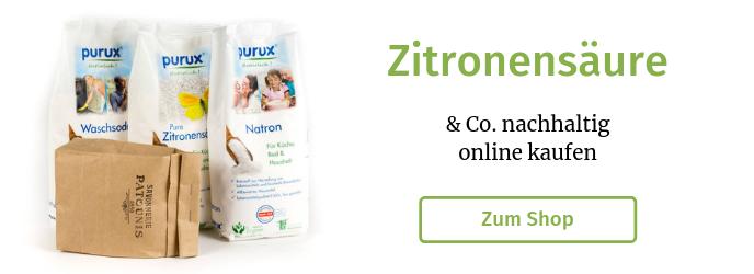 Zitronensäure nachhaltig online kaufen