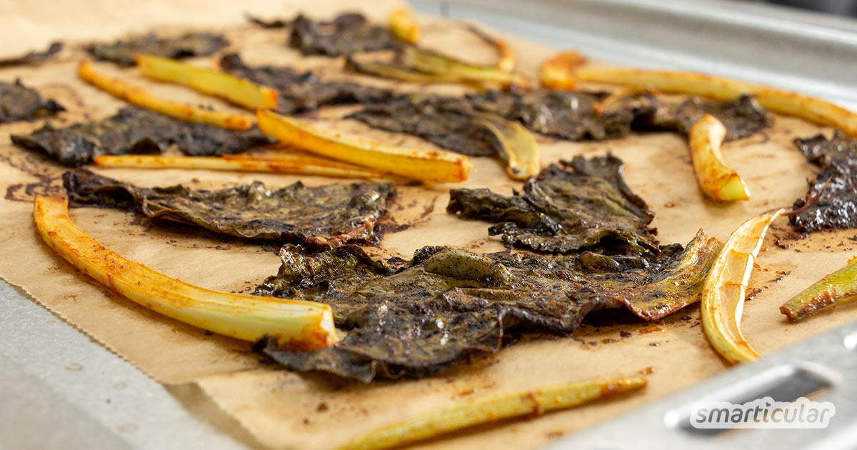Mit Blumenkohlblättern kannst du leckere Gerichte zubereiten, denn sie schmecken aromatisch und enthalten viele Nährstoffe. Sie sind viel mehr als nur Schutz des Kohls oder Kaninchenfutter.
