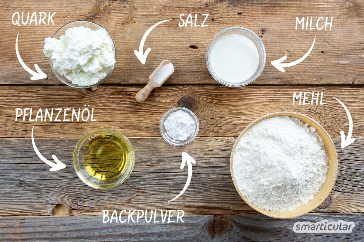 Brötchen mit Quark-Öl-Teig sind eine schnelle Alternative zu klassischen Sonntagsbrötchen. Mit diesem Rezept zauberst du in einer halben Stunde frische Brötchen - einfach und gelingsicher!