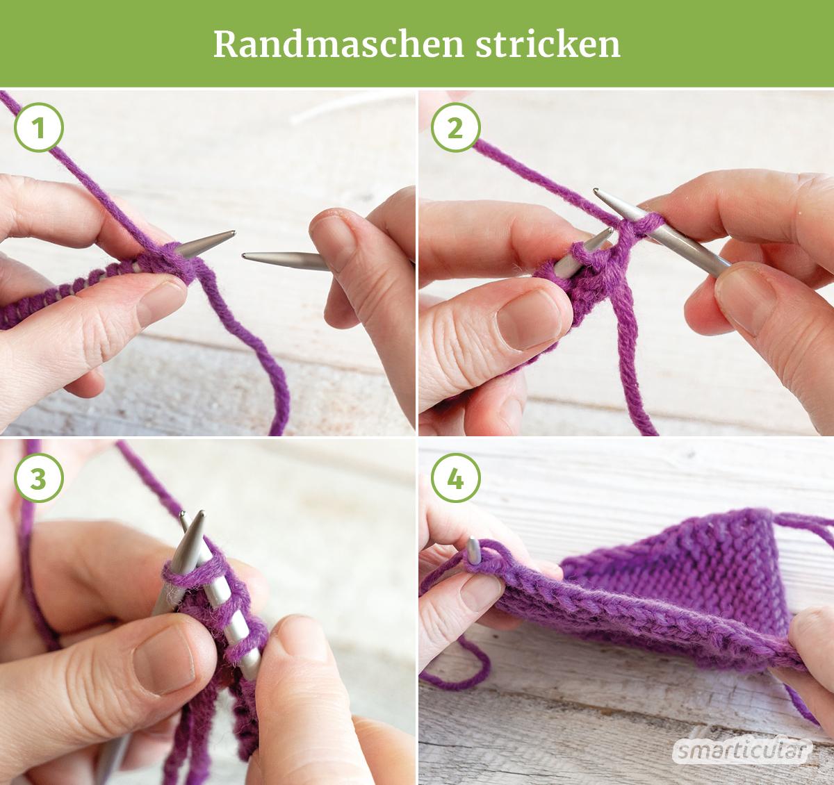 Stricken zu lernen, ist gar nicht schwer! Mit dieser Anleitung lernst du die wichtigsten Schritte - und kannst danach erste kleine Projekte stricken.
