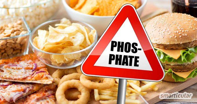 Phosphate sind zwar wichtig für unsere Gesundheit - zu viel Phosphat kann jedoch krank machen. Hier erfährst du, mit welchen Lebensmitteln du für eine ausgeglichene Phosphatzufuhr sorgst.