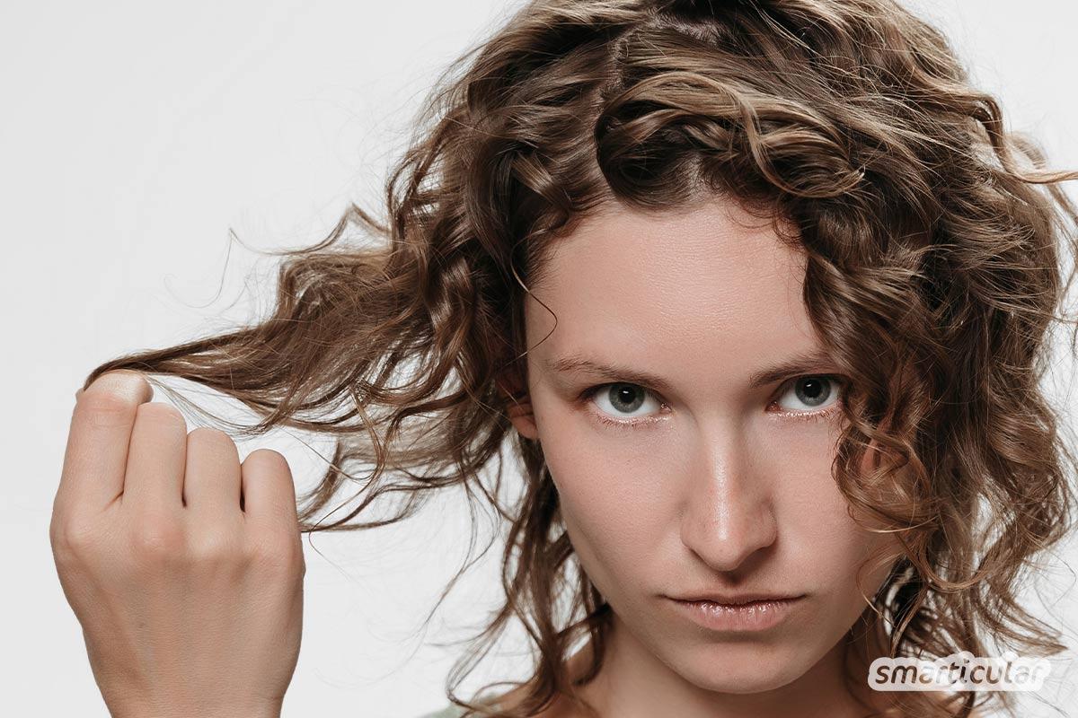 Haarpflege für Naturlocken - natürlich schönes Haar mit der Curly