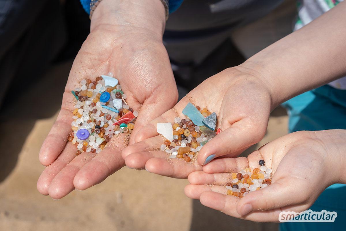 Mikroplastik belastet die Umwelt und ist eine Gefahr für die Gesundheit. Hier findest du die Hauptquellen für Mikroplastik sowie die besten Tipps, wie du es vermeiden kannst.