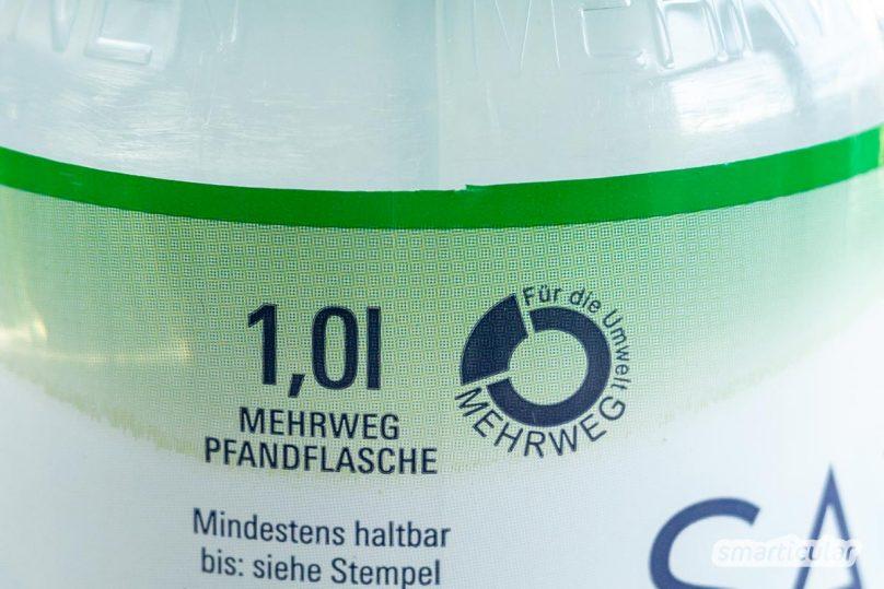 Flaschen mit Einwegpfand lassen sich oft kaum von echten Mehrwegflaschen unterscheiden. Mit diesen Tipps sorgst du dafür, dass Pfandflaschen wirklich mehrmals verwendet werden.